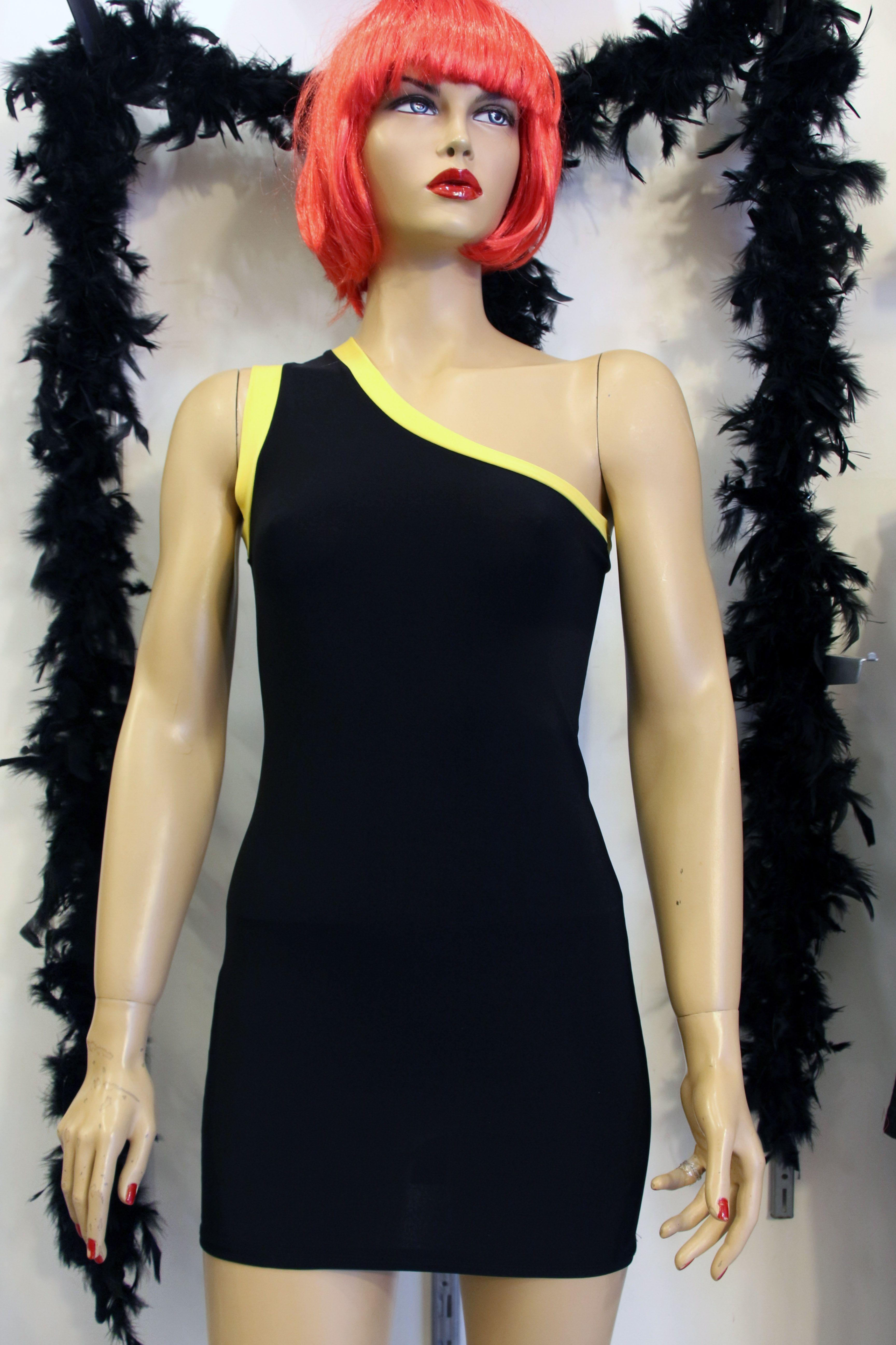 Tek Omuz Mini Spor Siyah Abiye Bayan Elbise Modelleri Gece Kiyafetleri Elbise Clubwear Siyah Abiye