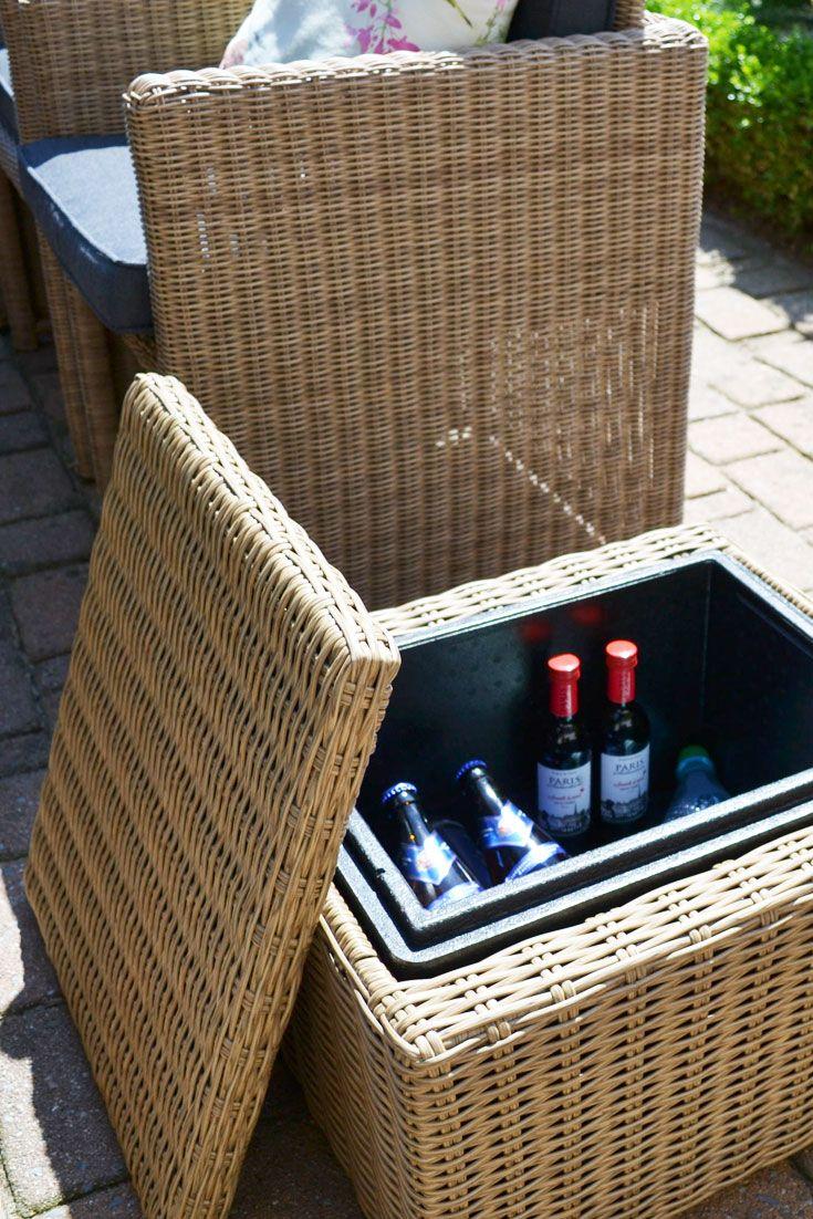 Kühlbox In 2019 Cocktails Im Garten Gartenmöbel Kühlakku Und Möbel