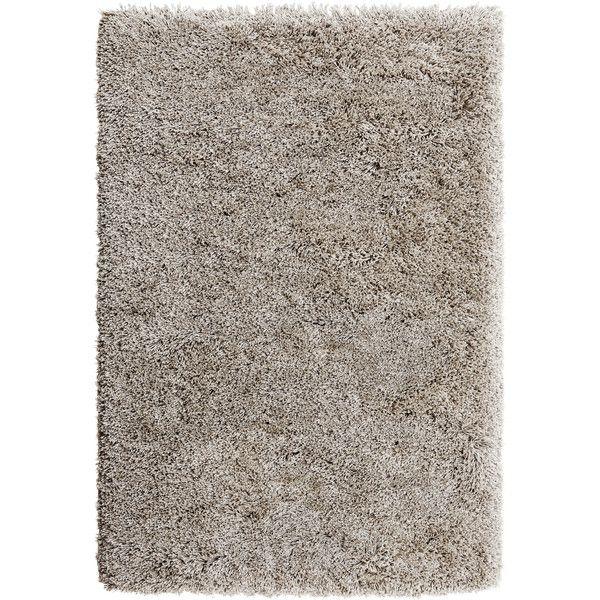 IKEA GÅSER Rug, high pile, beige (210 AUD) via Polyvore featuring rugs, ikea and home