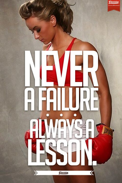 No such thing as failing #lessons