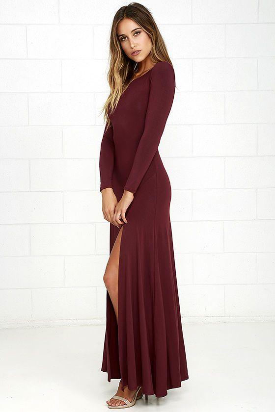 Crave maternity maxi dress