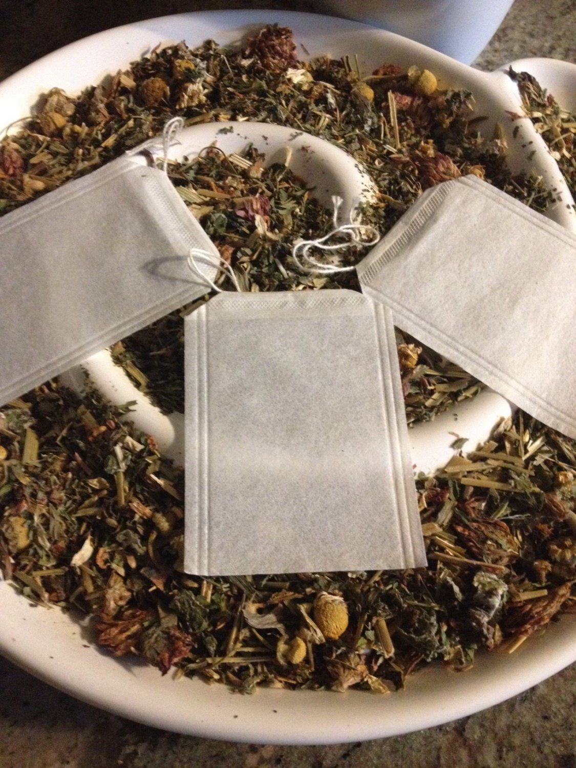 Empty Fillable Loose Leaf Tea Bags 100 Ct