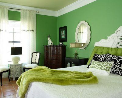 Going Green Part I Green Room Colors Lime Green Bedrooms