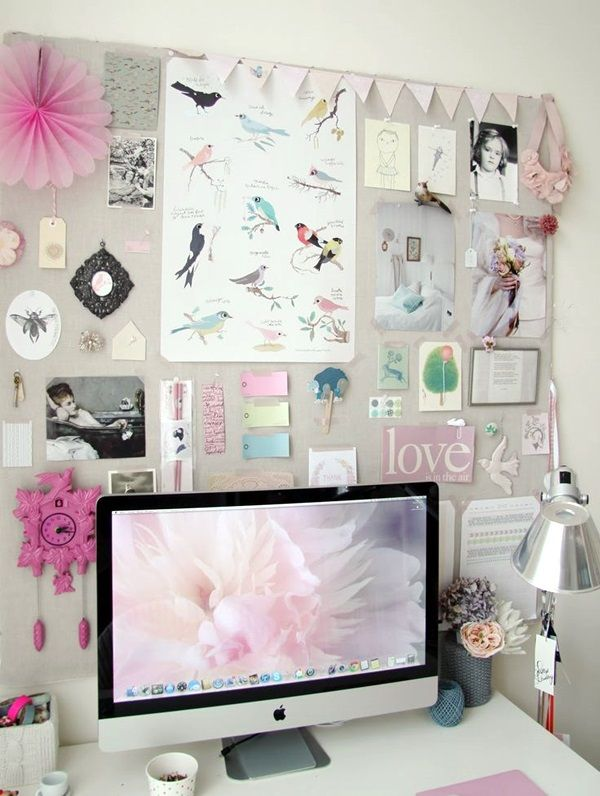 40 Cool And Inspirational Pin Board Wall Ideas