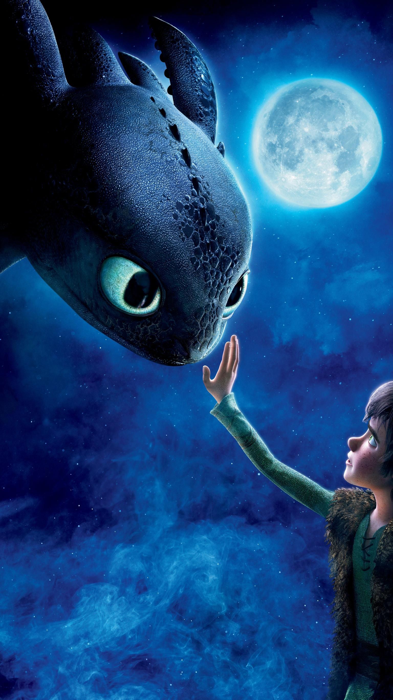 How To Train Your Dragon 2010 Phone Wallpaper In 2020 How