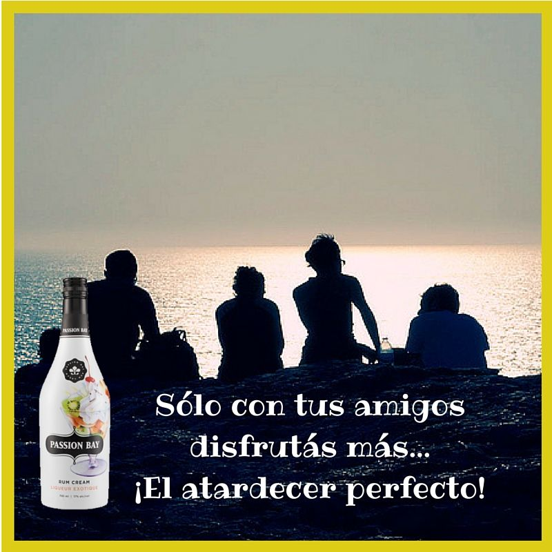 Sólo con Amigos!!! #Passion #Bay #Atardecer #Sunset
