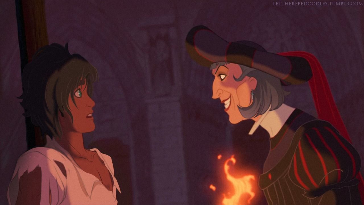 """"""" """"He will be mine or he will burn!"""" """" (( Frollo has always scared the shit out of me. He's honestly the most terrifying and fascinating Disney villain in my books, and when I got old enough to..."""