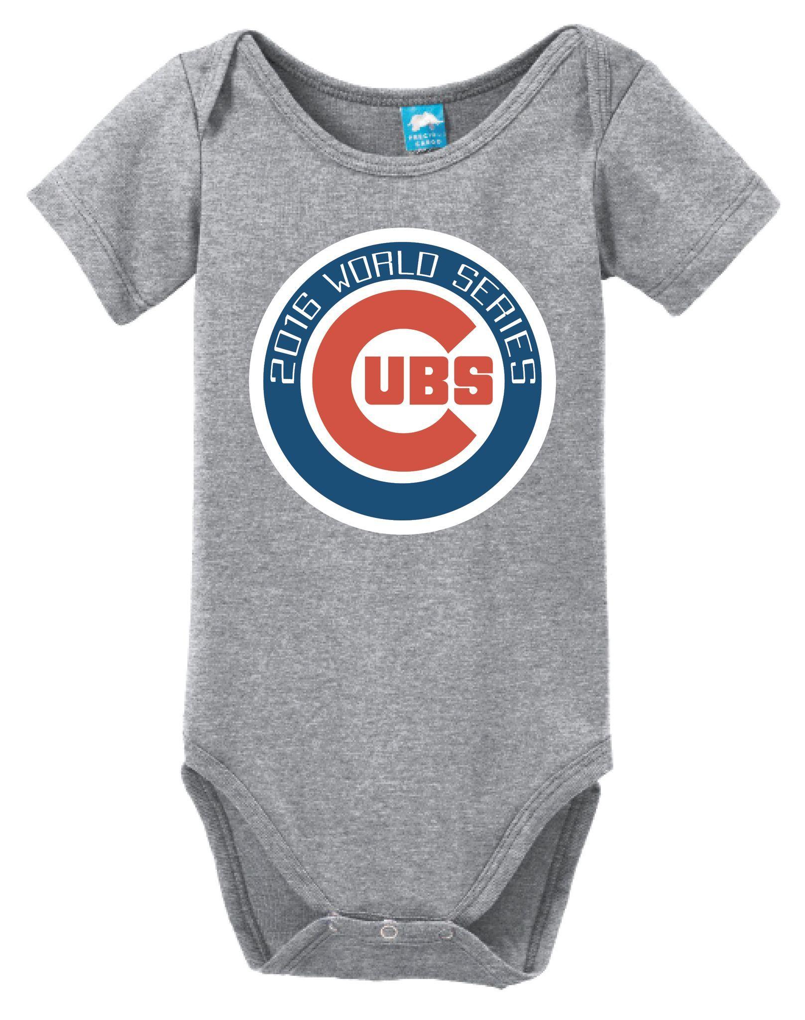 Chicago Cubs World Series Onesie Funny Bodysuit Baby Romper