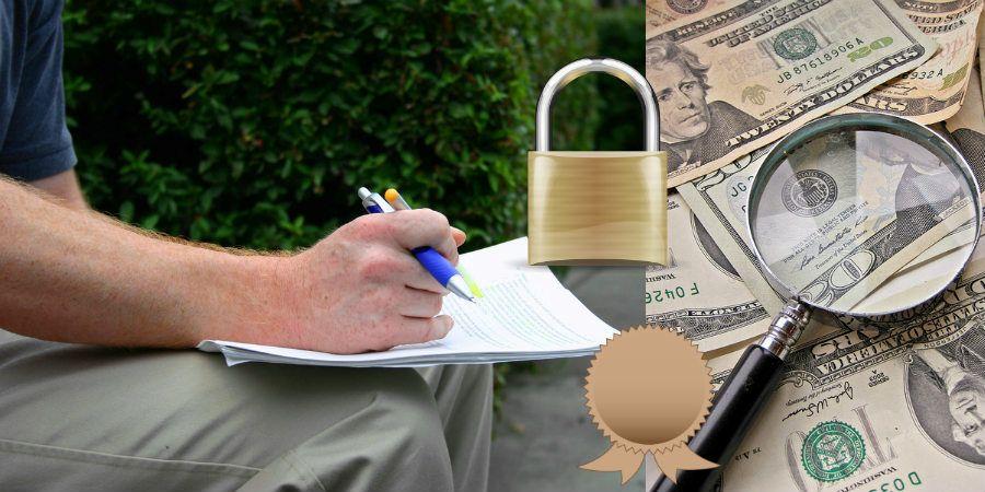 Fake car insurance policies and fake cards