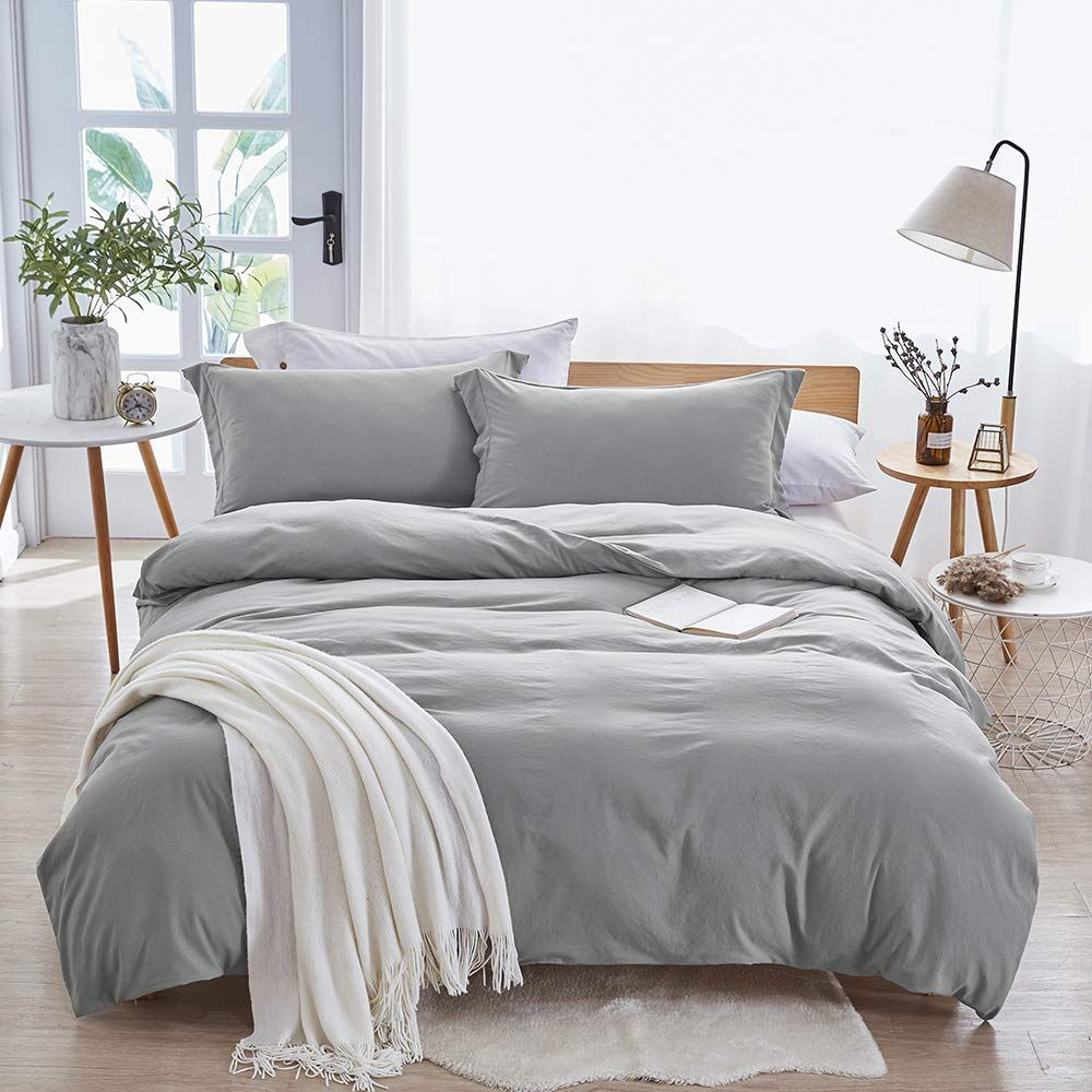Dreaming Wapiti Washed Microfiber Bedding Duvet Cover Sets Best Duvet Covers Bed Duvet Covers