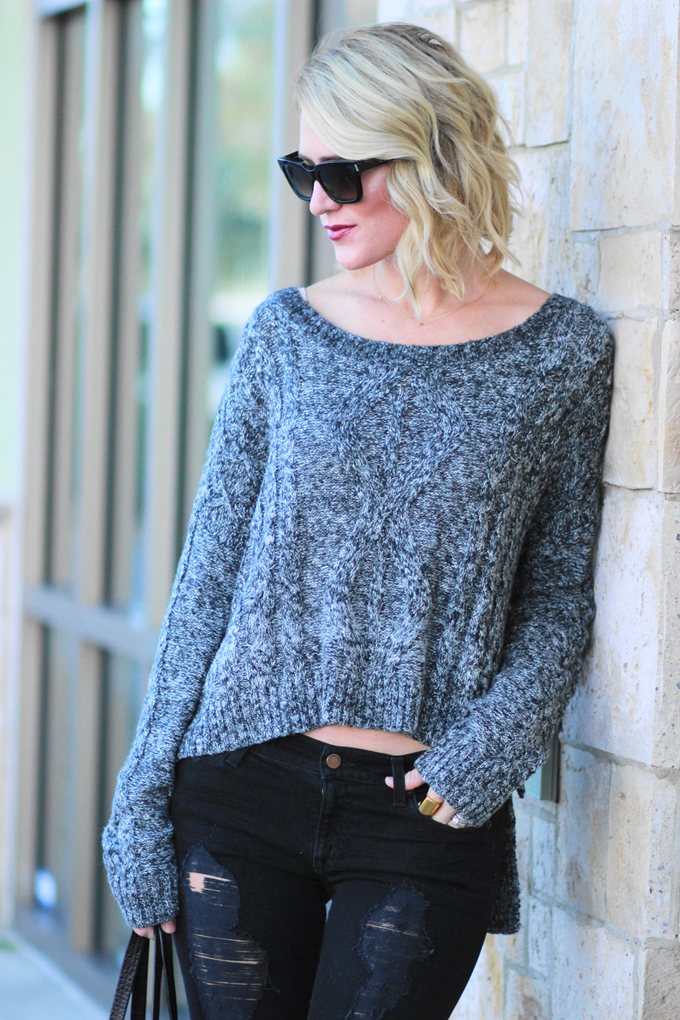 Belle de Couture: Pullover Sweater