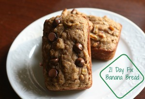 21 Day Fix Banana Bread – Carey&CleanEatingS