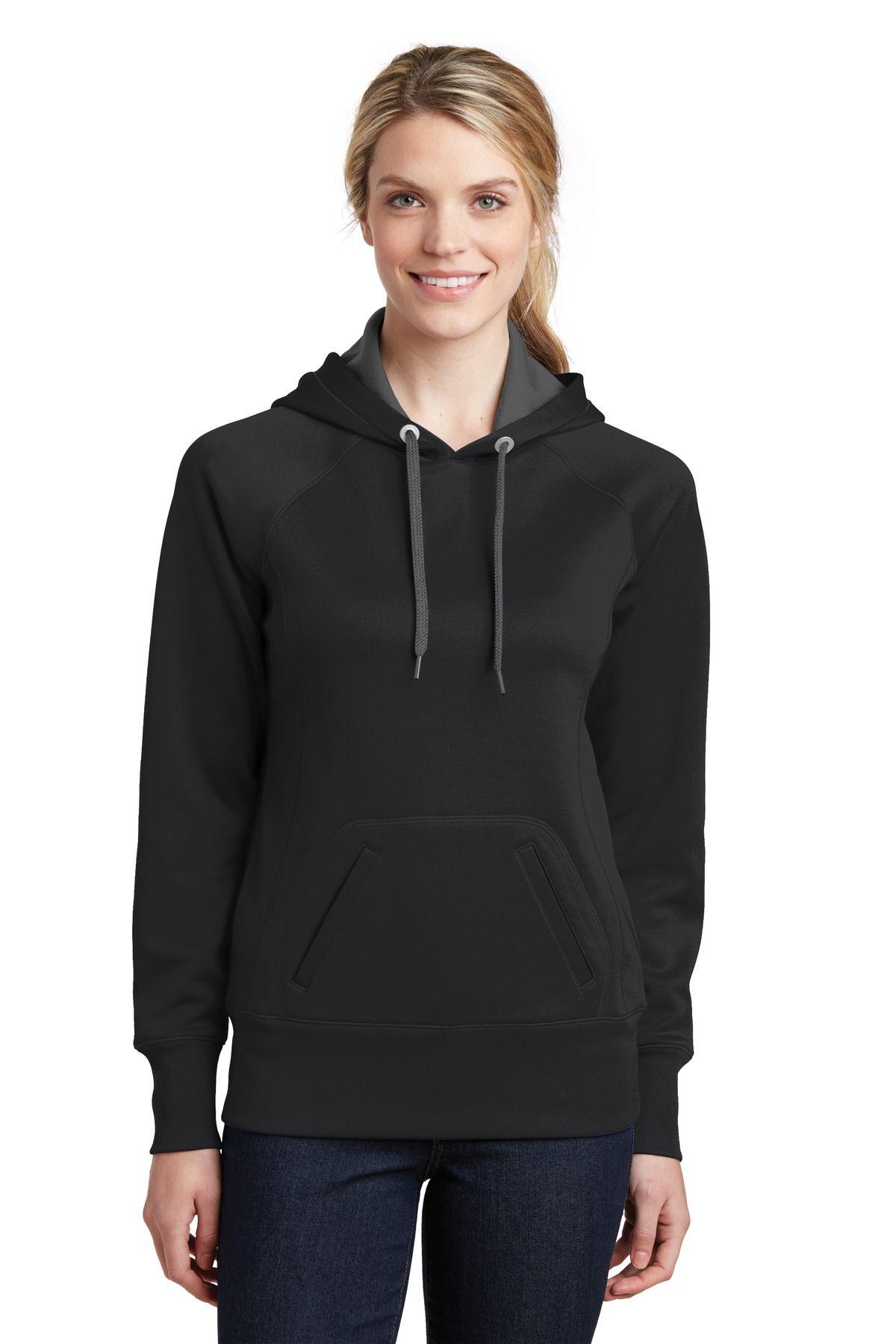 SportTek LST250 Ladies Tech Fleece Hooded Sweatshirt