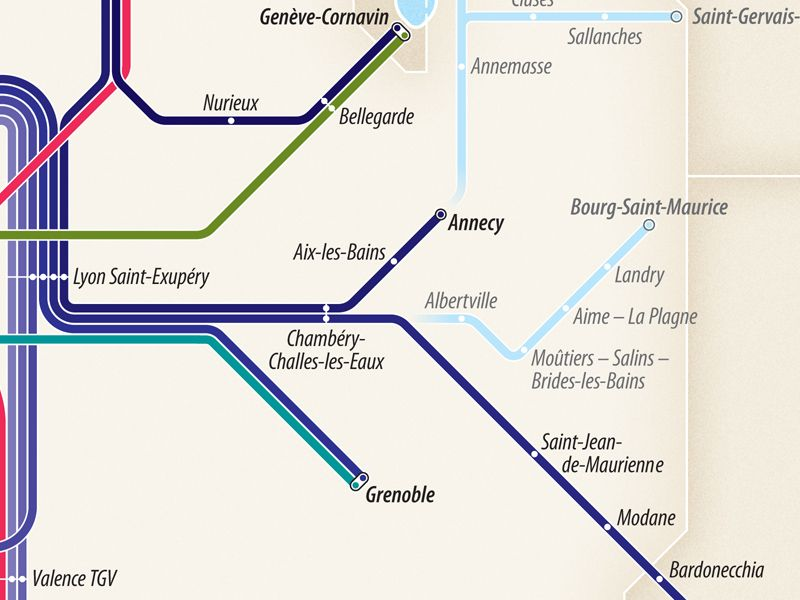 Project High Speed Train Routes Of France Transit Diagram Train