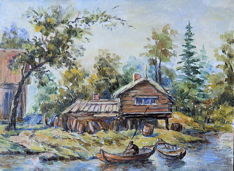 картинка домик рыбака считают