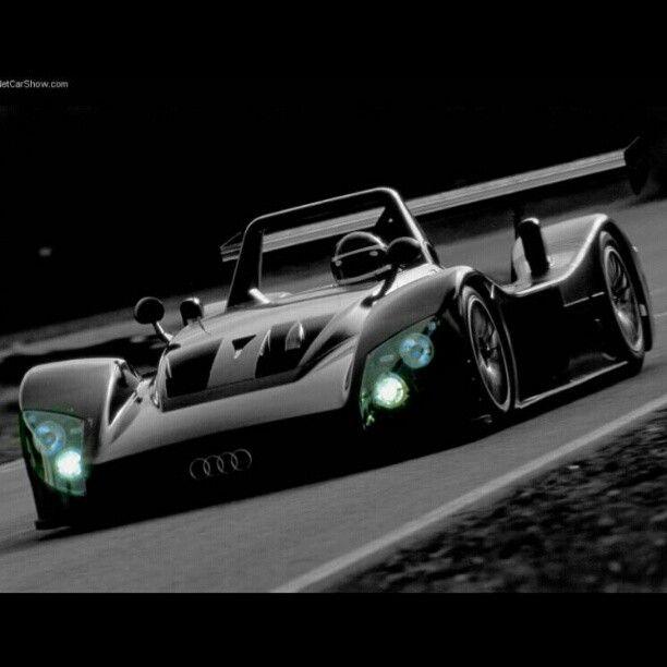 Audi R8R Again. Le Mans Prototype. Best Looking LMP Ever