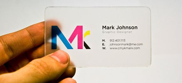 Business Card Design Ideas - Transparent