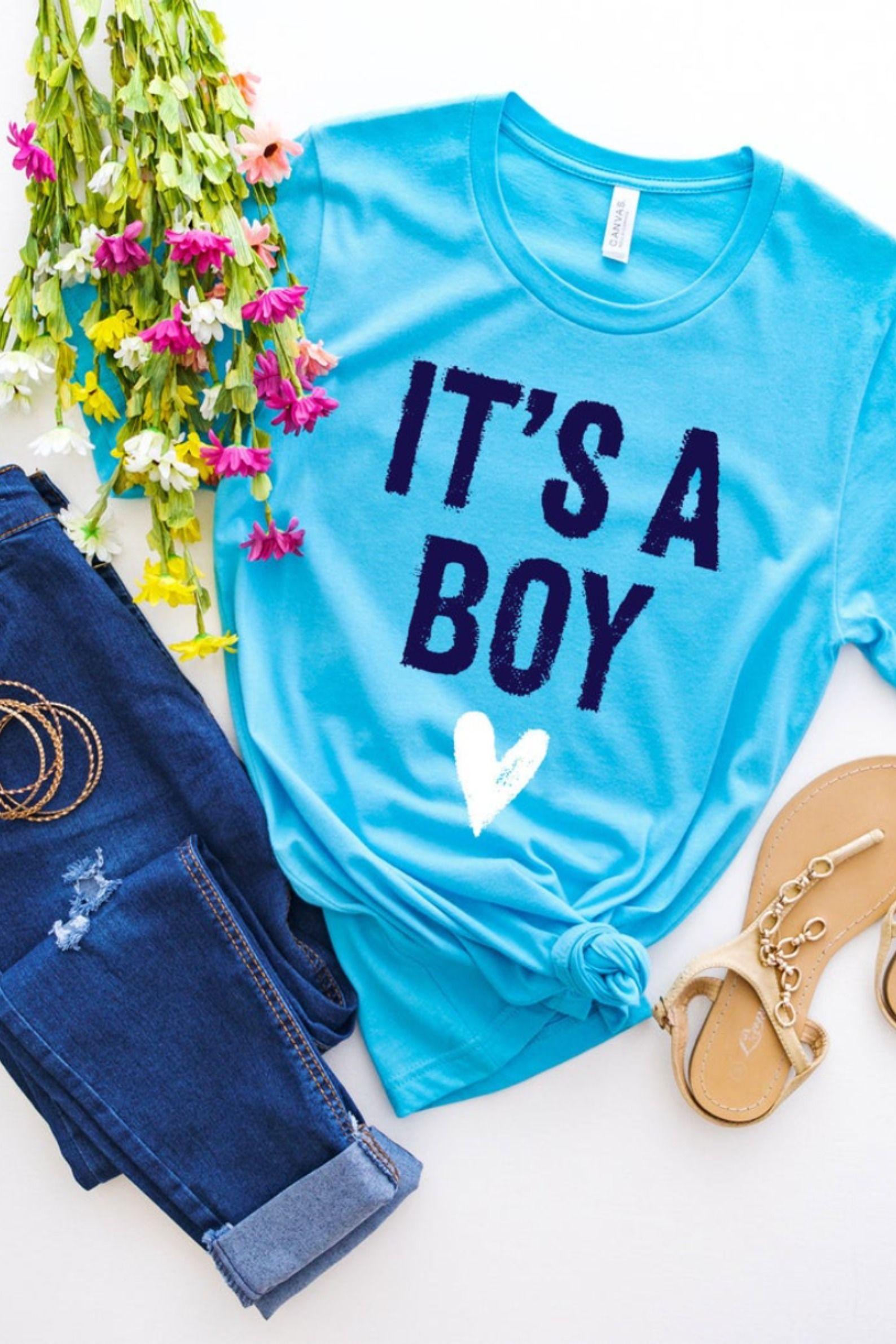 Its A Boy Shirt, Boy Baby Shower, Its A Boy, Baby Boy, Baby Boy Reveal, Boy Mom, Maternity, New Mom