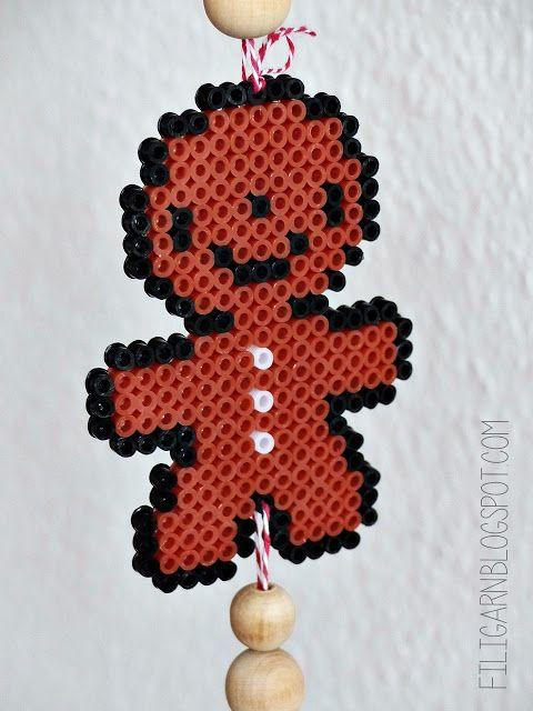 Filigarnblogspotcom Diy Anhänger Aus Bügelperlen Kids Crafts