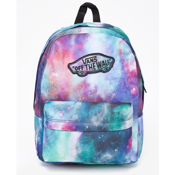 Vans Realm Backpack ($44) ❤ liked on Polyvore featuring
