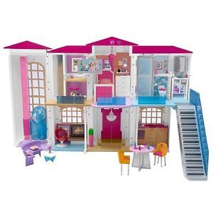 2016 NEW BARBIE HELLO DREAM HOUSE SMART AND VOICE ACTIVATED
