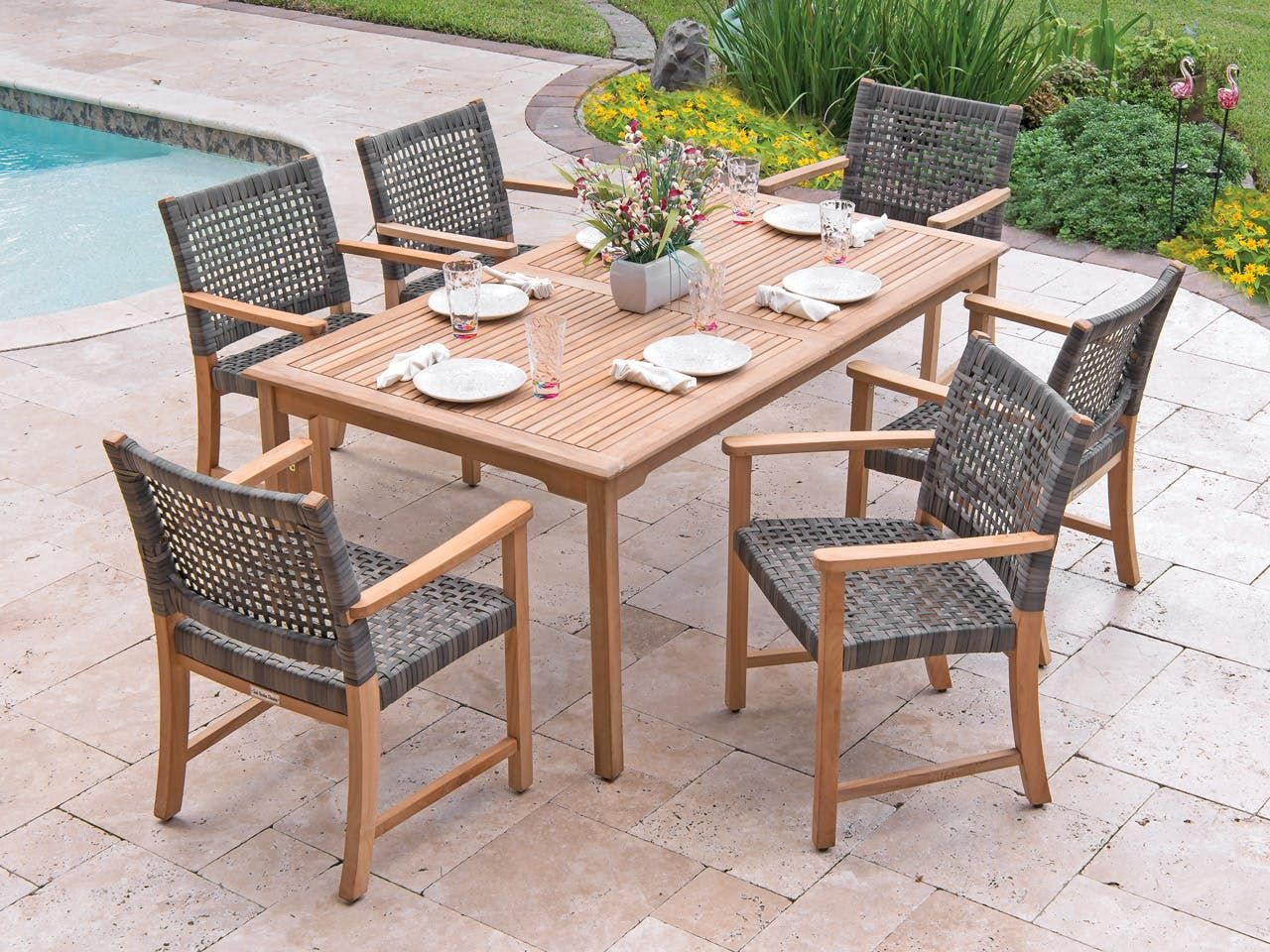 What S Included Br 6 Dining Chairs With A 71 X 39 Rectangular