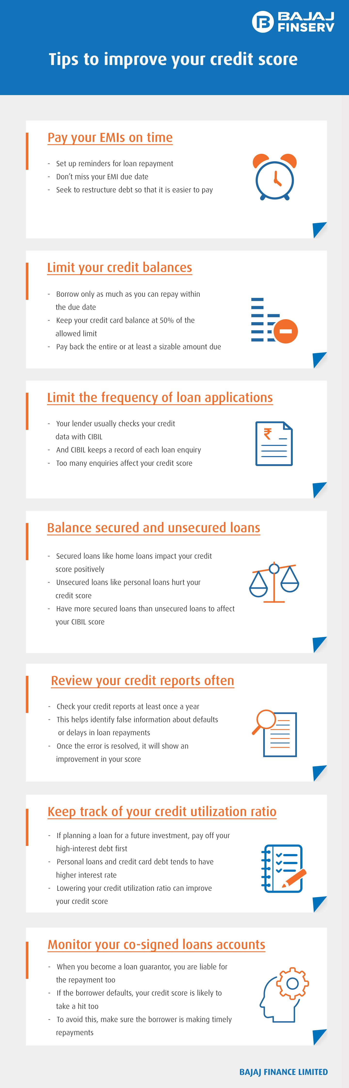 7 Guaranteed Ways To Improve Your Cibil Score Fast Improve Your Credit Score Check And Balance Unsecured Loans