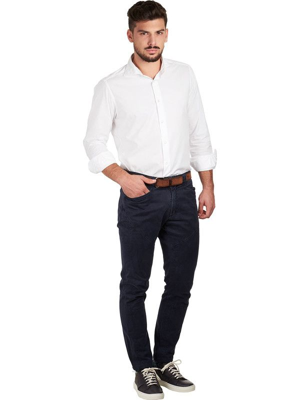 The Sartorialist white pinpoint shirt French collar