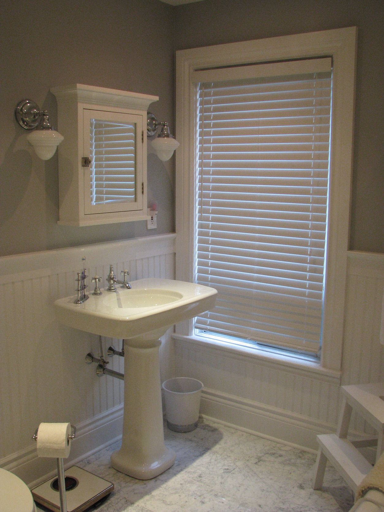Wood Wainscoting Vs Subway Tile In Master Bath Bathroom