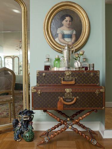 Vintage LV.  Upper East Side Studio | Elizabeth Bauer Design