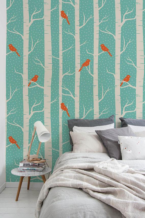 Dark Floral Mural Vintage Floral Wallpaper Peel And Stick Etsy Vintage Floral Wallpapers Wallpaper Peel And Stick Wallpaper