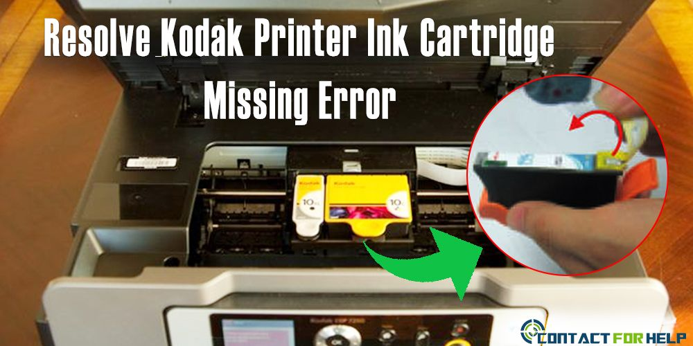 get solution for the error message kodak printer ink cartridges