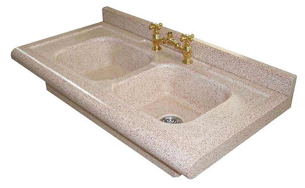 lavello su misura doppia vasca 120x60x20