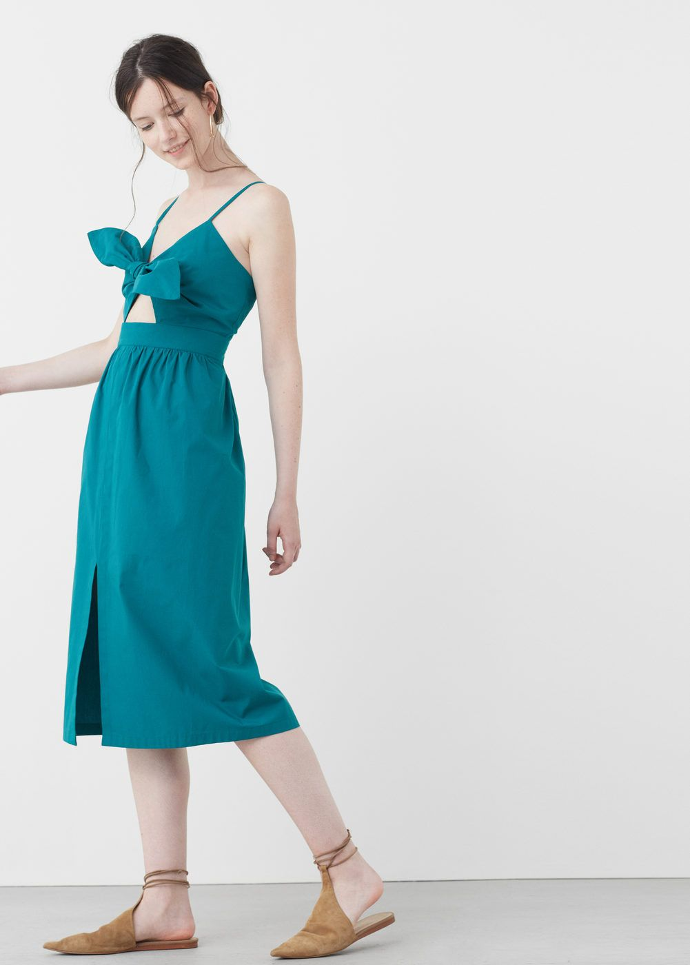 Popeline-kleid - Damen | Mango