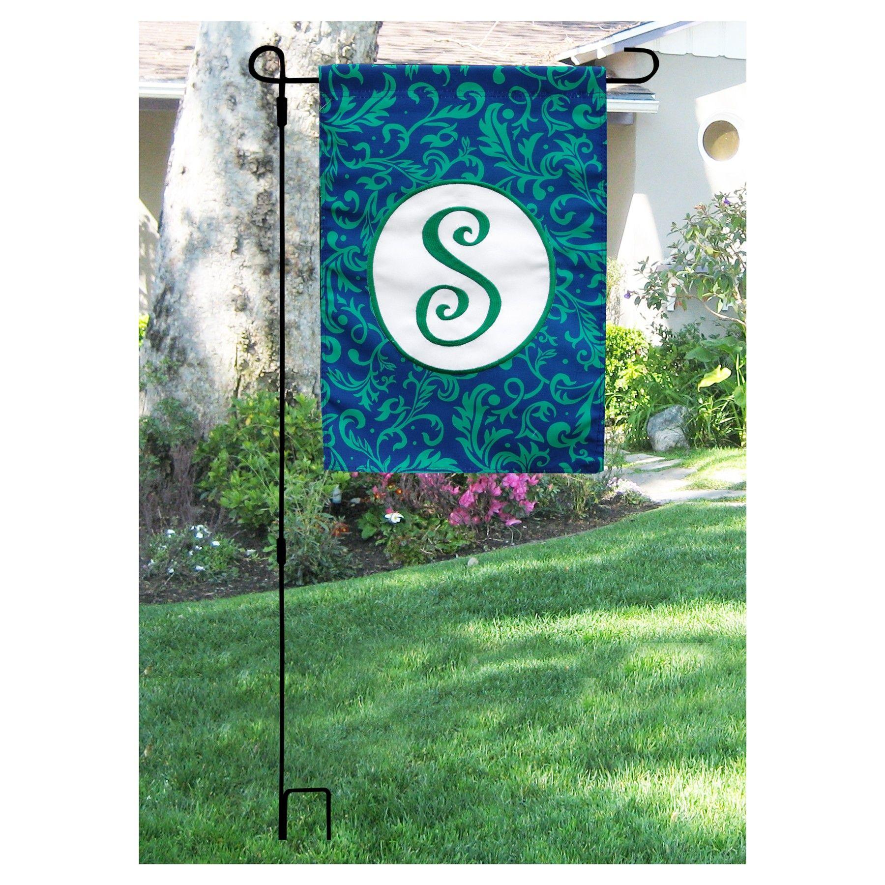Wonderful Garden Flagpole