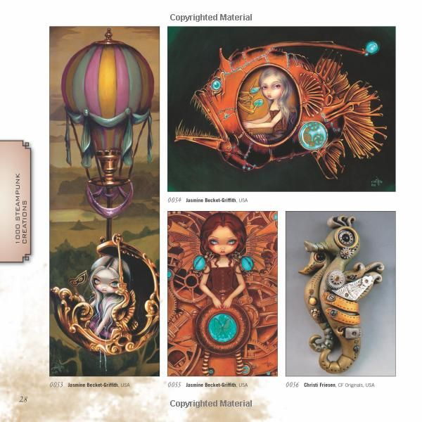 1 000 Steampunk Creations Neo Victorian Fashion Gear And Art 1000 Series Dr Grymm Barbe Saint John 9781592536917 Amaz Gear Art Neo Victorian Cartoon Art