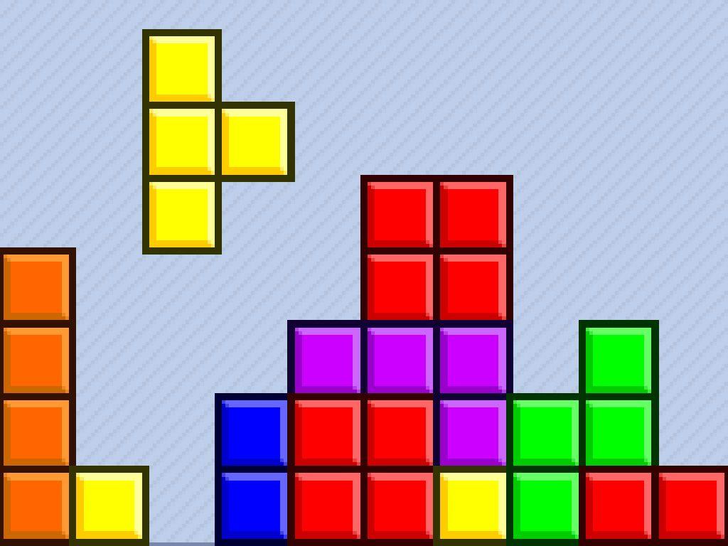 Wallpaper Of The Tetris Game From Wwwplayvg Tetris Games