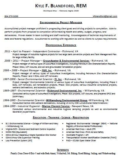 Kyle Blandford Resume! Resume Pinterest - resume requirements