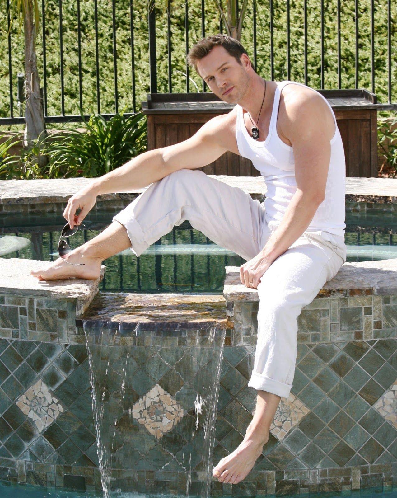 Eric Martsolf Hot Male Celebrities Barefoot Pinterest