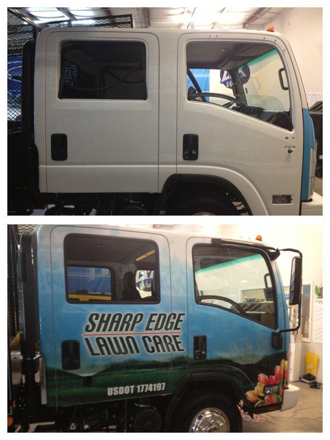 Izuzu Cab Truck Wrap Done By Digital Efx Wraps Louisville Ky
