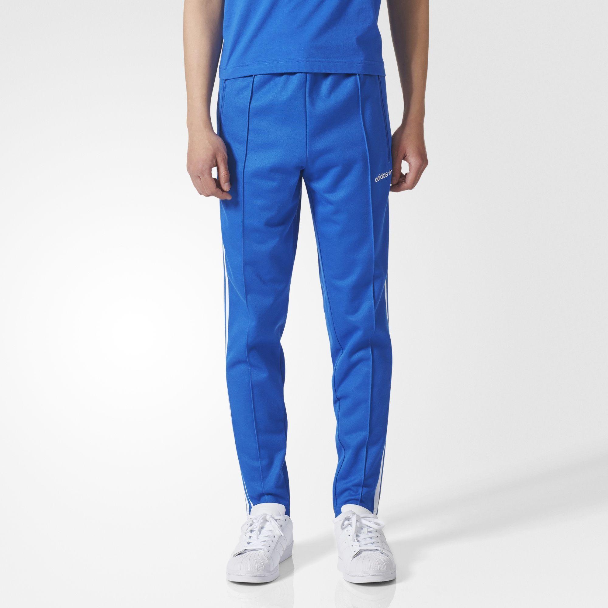 Blue Track Pants   adidas US