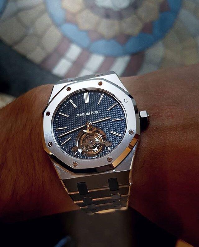 Audemars Piguet Royal Oak Tourbillon Extra Thin 26510 Luxury Watches Expensive Watches Audemars Piguet