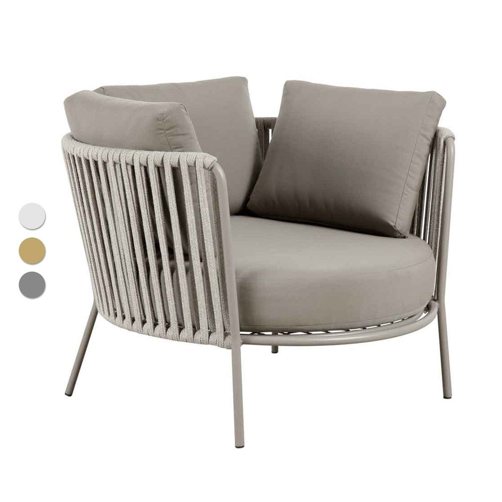 Loungesessel Danny Taupe Lounge Sessel Italienische Mobel