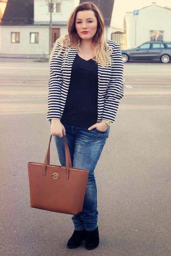 Streetstyle mode f r kurvige frauen casual style und - Frauen style ideen ...