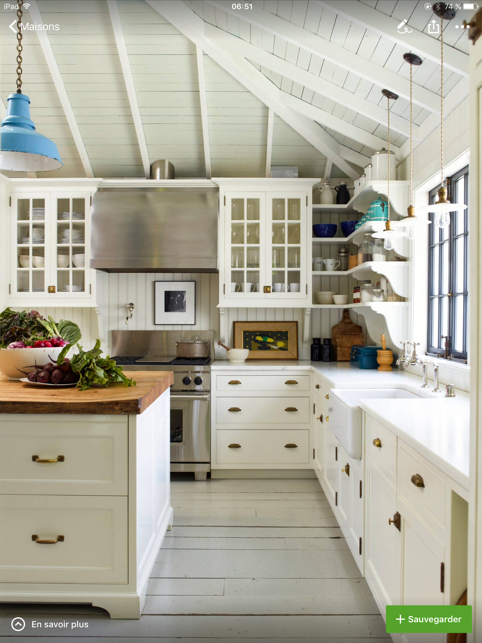 A Properly Designed Small Kitchen Has Minimal Clutter And Maximum