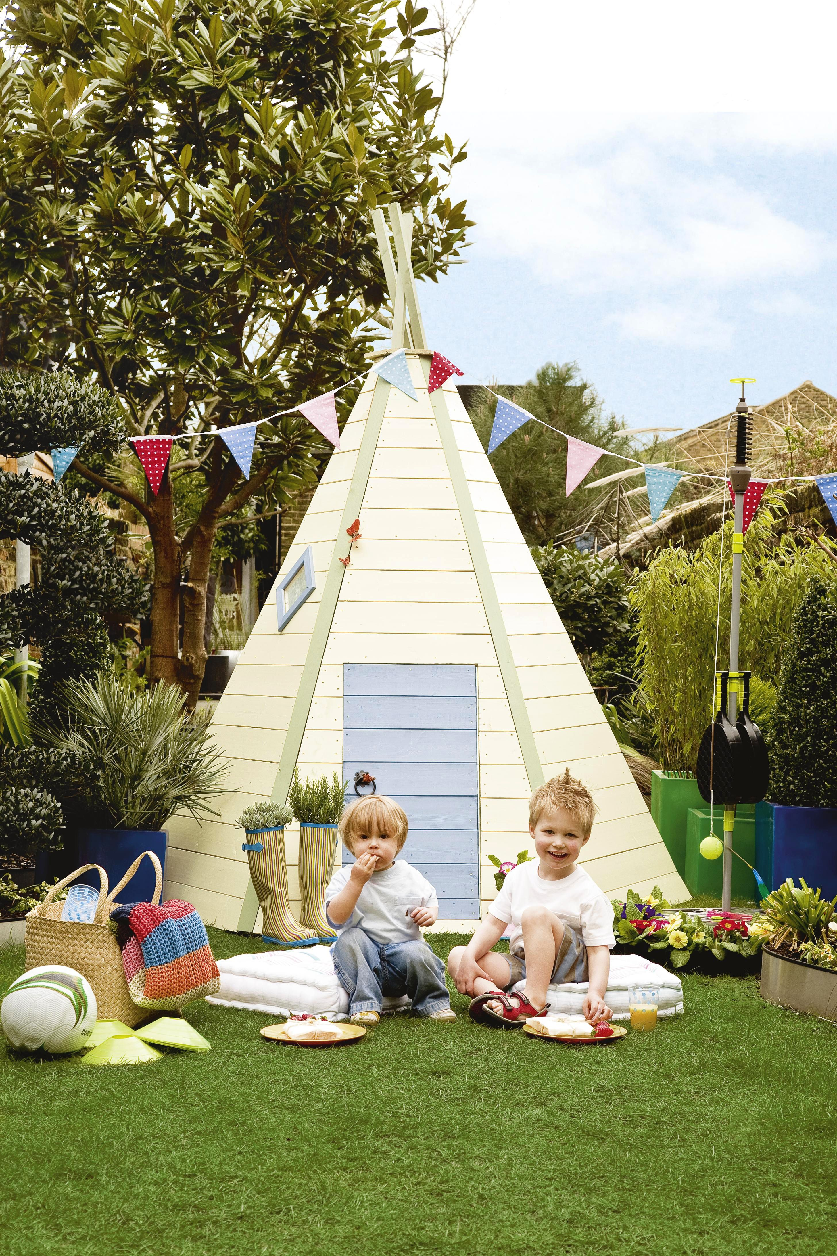 X wigwam playhouse playhouses garden buildings and gardens
