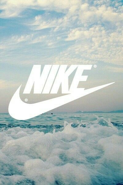 Nike Fond D Ecran Iphone Wallpaper Nuages Ciel Mer Ocean Vagues Nike Wallpaper Nike Background Nike