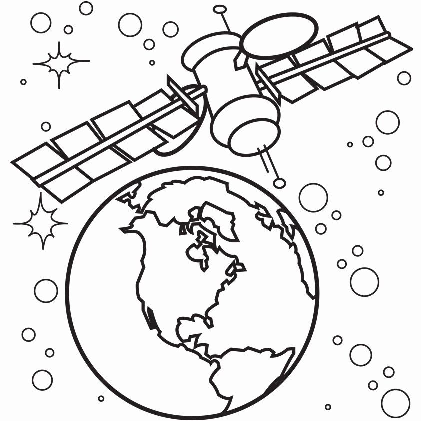 Outer Space Coloring Pages Elegant Outer Space Coloring