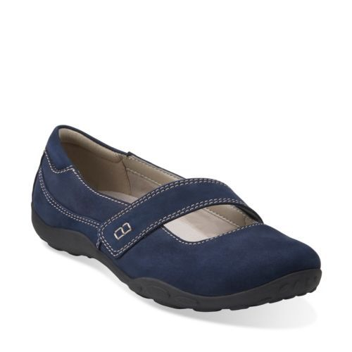 Haley Skylar Navy Nubuck womens-active no black, but only $40