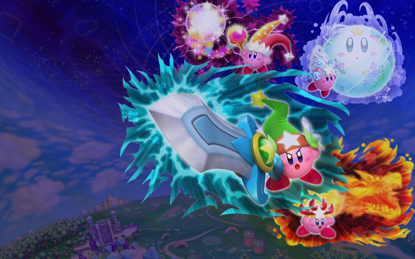 Kirby Returns To Dreamland All Super Abilities Google Search